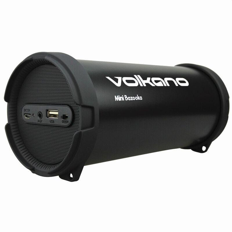 Volkano Mini Bazooka Speaker -  nocolour
