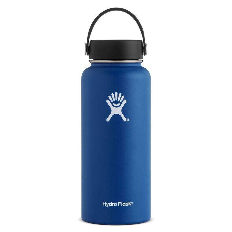 Hydroflask 946ml Wide Mouth Flask -  navy