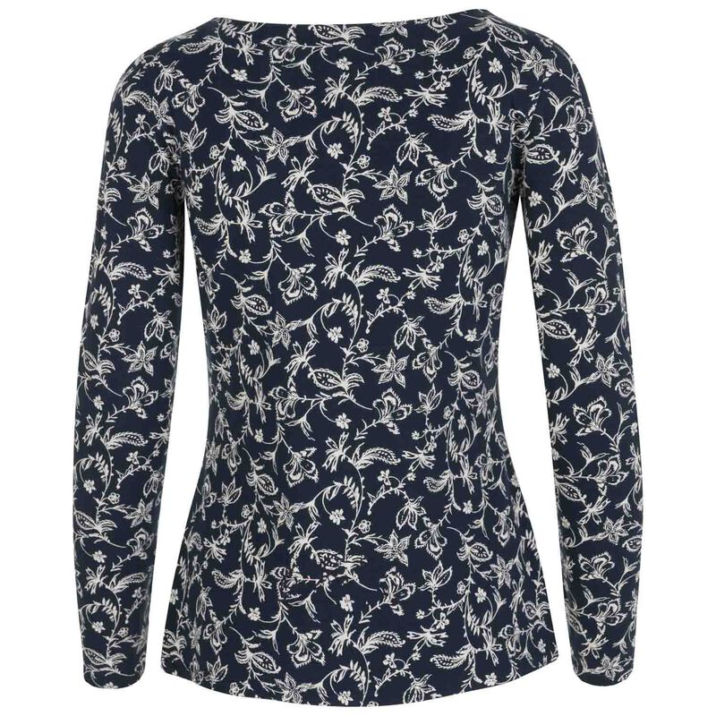 Rare Earth Loulou Printed Knit -  navy