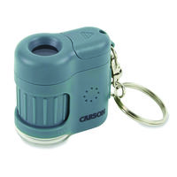 Carson 20x Micromini Pocket Microscope -  blue