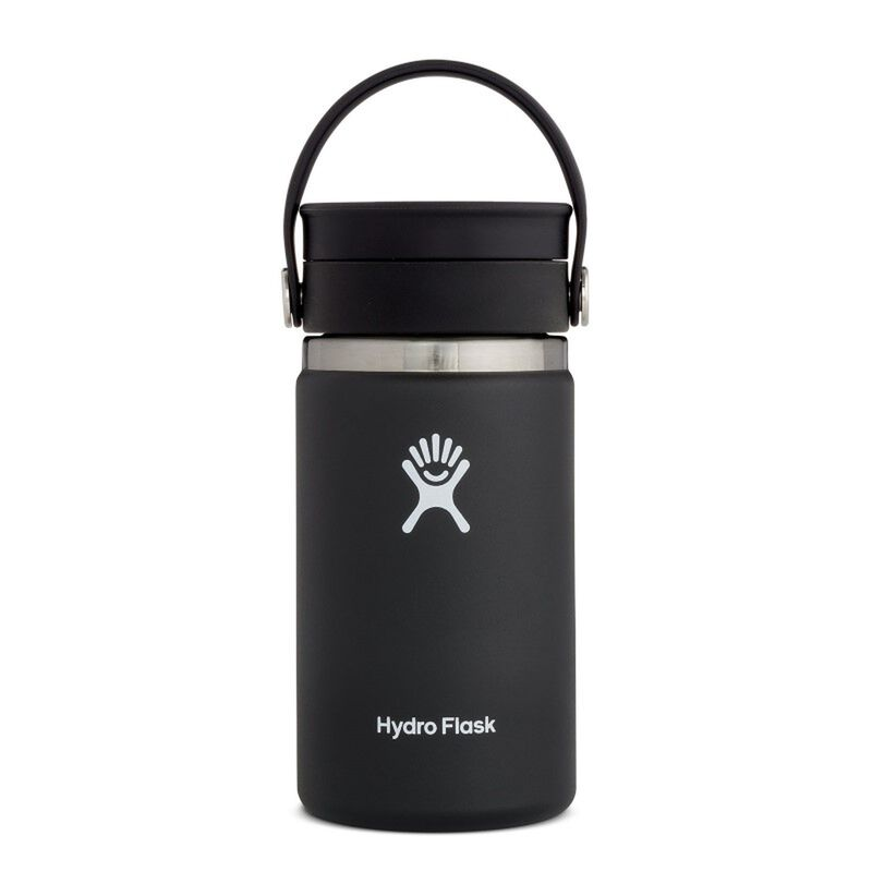 Hydroflask 354ml Wide Mouth Flex Sip Lid Coffee Mug -  black
