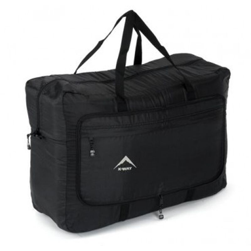K-Way Overflow Travel Bag -  black