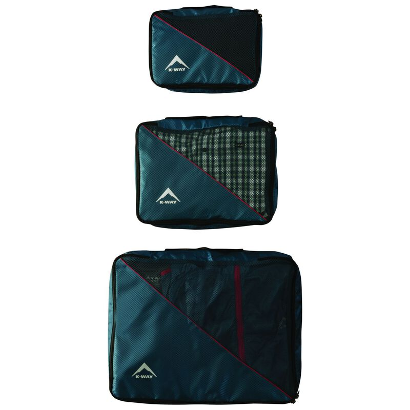 K-Way Mesh Packing Cell Set -  blue-blue