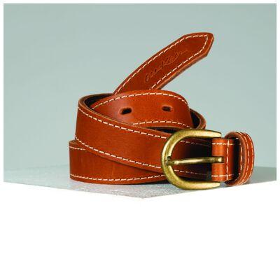 Old Khaki Henley Contrast Stitch Belt
