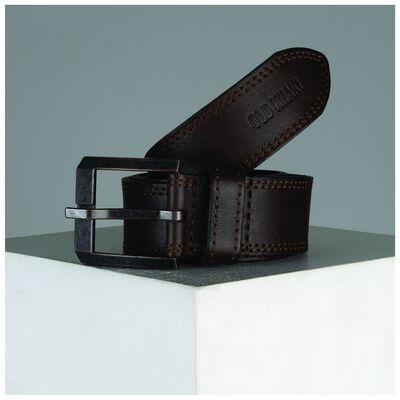 Davis Stitch Detail Leather Belt