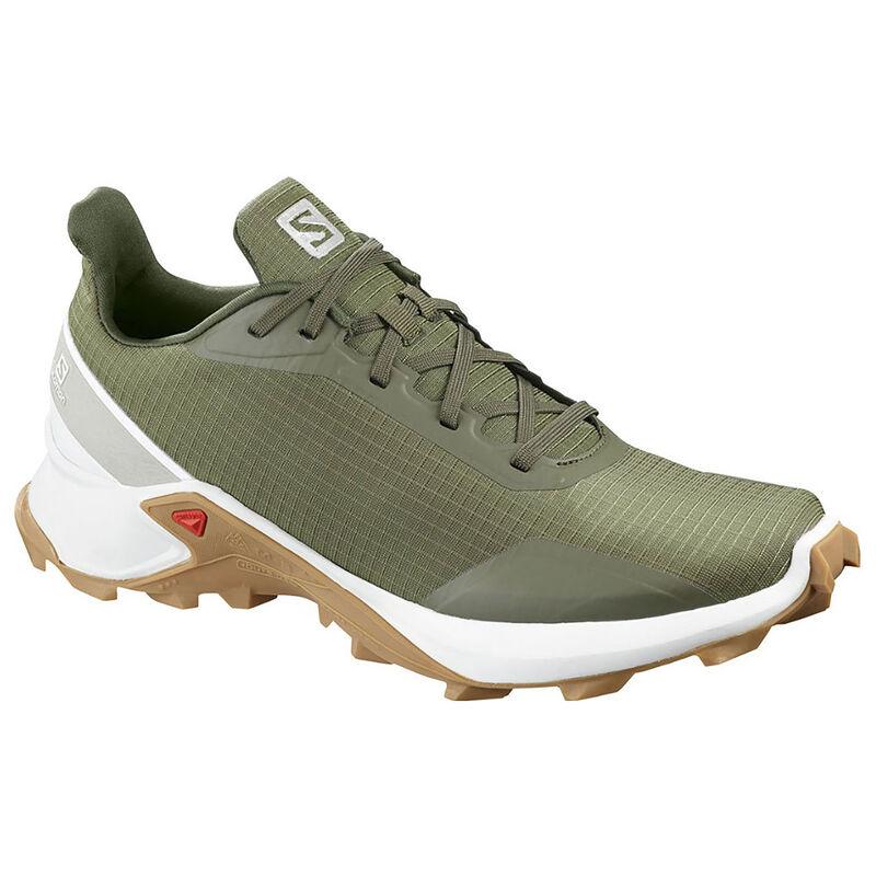 Salomon Men's Alphacross Shoe  -  green-white