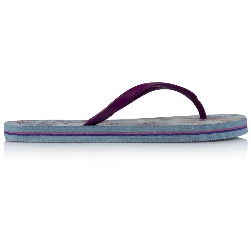 Old Khaki Women's Tide Thong -  lightblue-plum