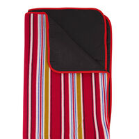 Cape Union Picnic Roll Up Rug -  red