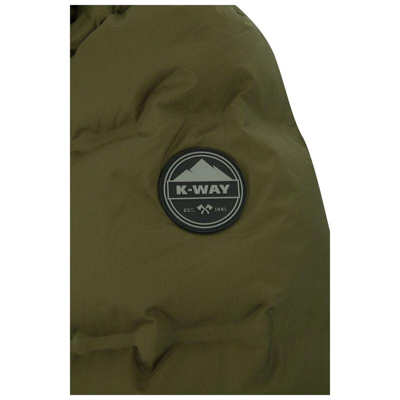 K-Way Men's Oscar Down Jacket  -  olive