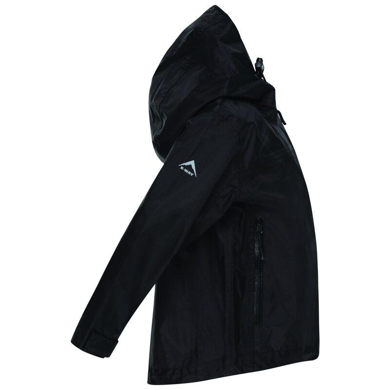 K-Way Kids Harley 2.5L Tech Shell Jacket  -  black