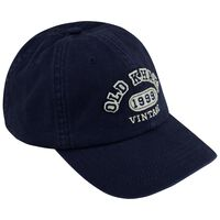 Old Khaki Men's Gavin Branded Peak Cap -  navy-navy