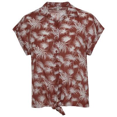 Micah Women's Tie-Front Shirt