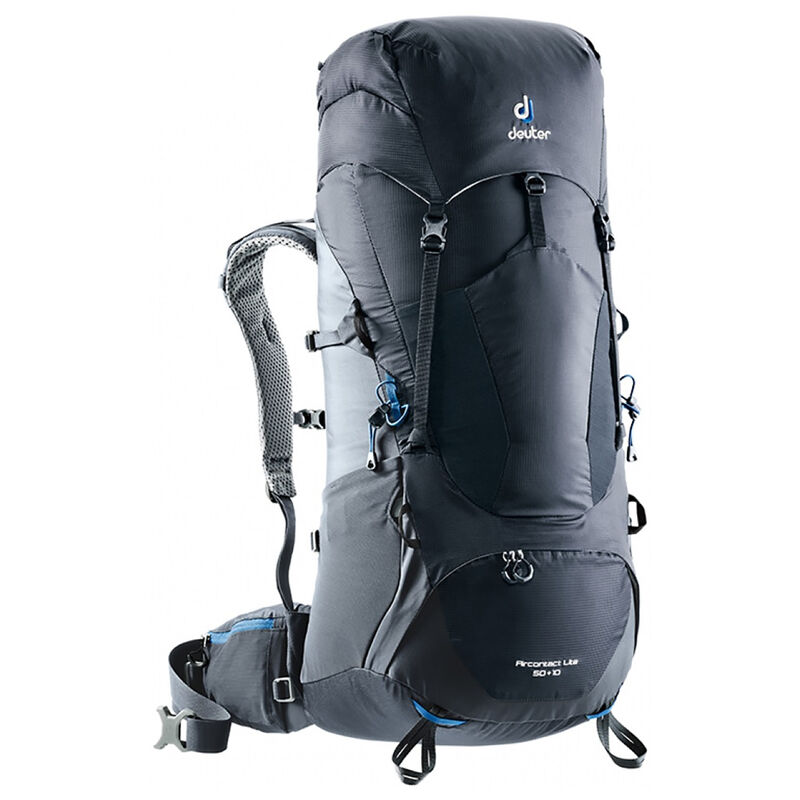 Deuter Aircontact Lite 50+10 Hiking Pack -  black-charcoal