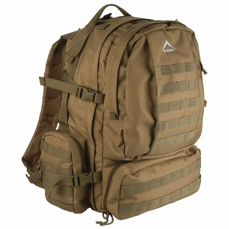 K-Way Oryx 35L DayPack -  tan