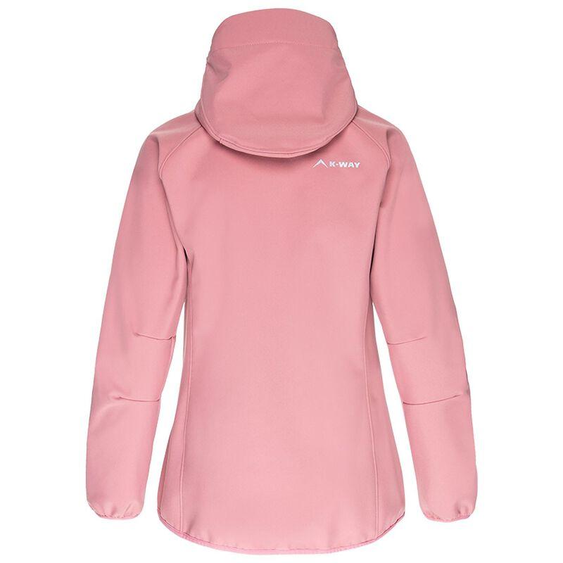 K-Way Women's Softshell Jacket -  dustypink
