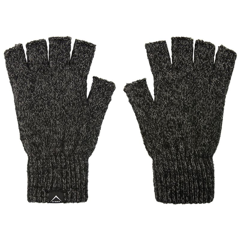 K-Way Unisex Logan Fingerless Mitts -  graphite-grey
