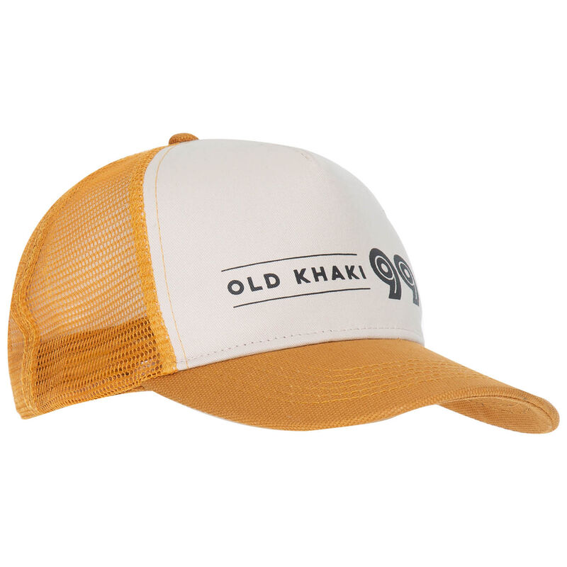 Old Khaki Men's Emmett Trucker Cap -  yellow-milk