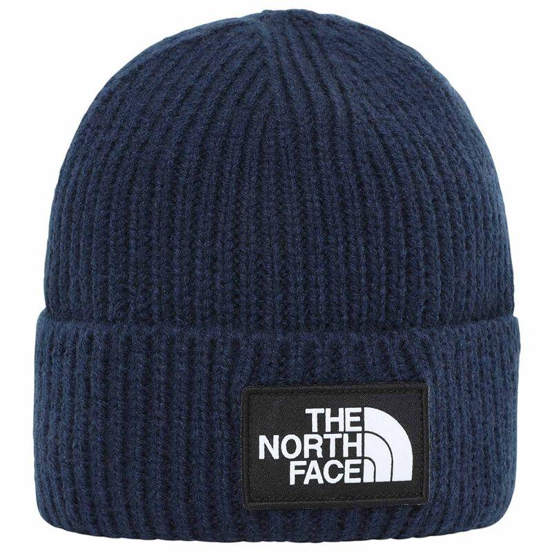 The North Face TNF Logo Box Cuffed Beanie -  c57