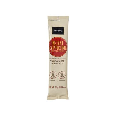 NOMU Cappucino Sweetened Single Sachet
