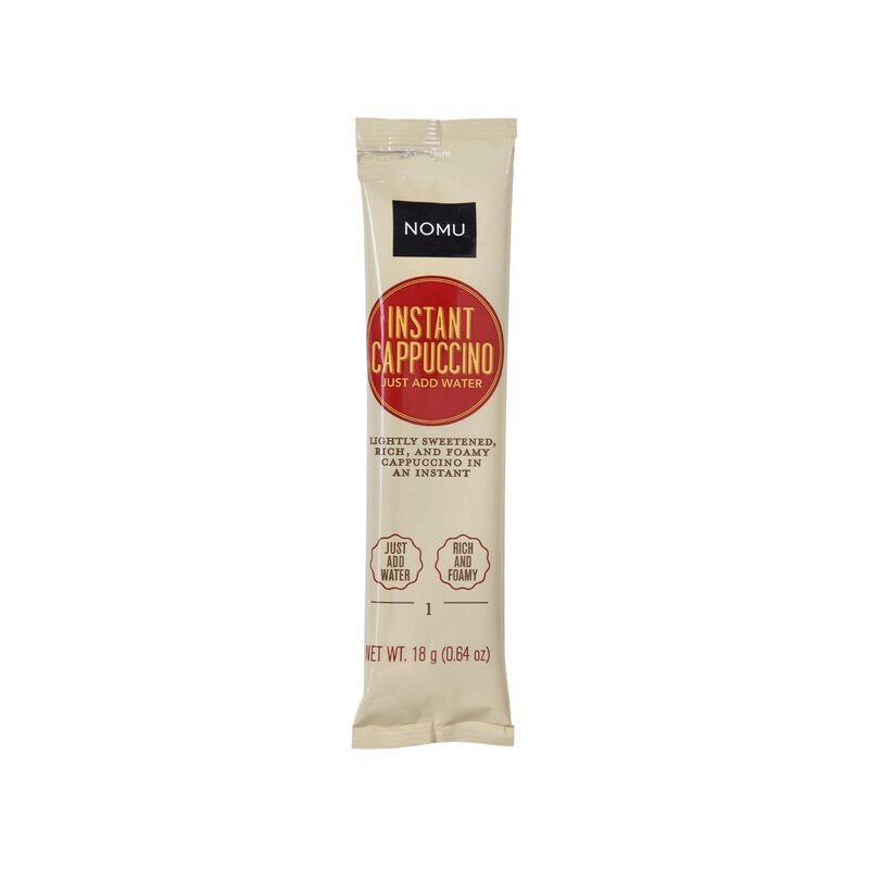 NOMU Cappucino Sweetened Single Sachet -  nocolour