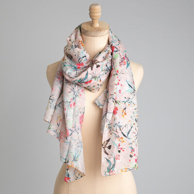 Rare Earth Earla Floral Scarf