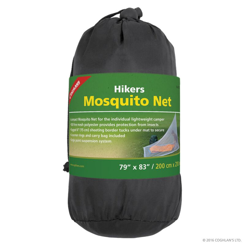 Coghlan's Hikers Mosquito Net -  white