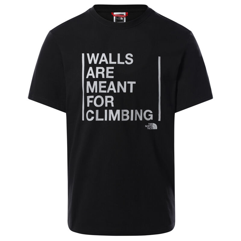 The North Face Men's 'Walls are Meant for Climbing' T-Shirt -  c01