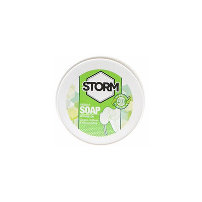 Storm Leather and Saddle Soap 350ml