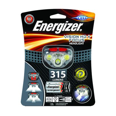 Energizer Vision HD+ Headlamp 315 +3AAA