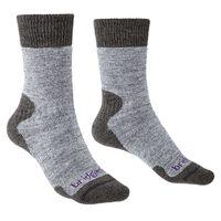 Bridgedale Women's Explorer Heavyweight Comfort Sock -  grey