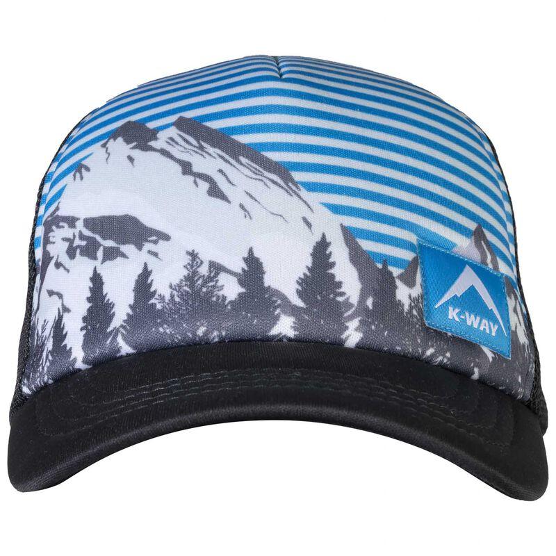 K-Way Atlas Trucker Cap -  blue