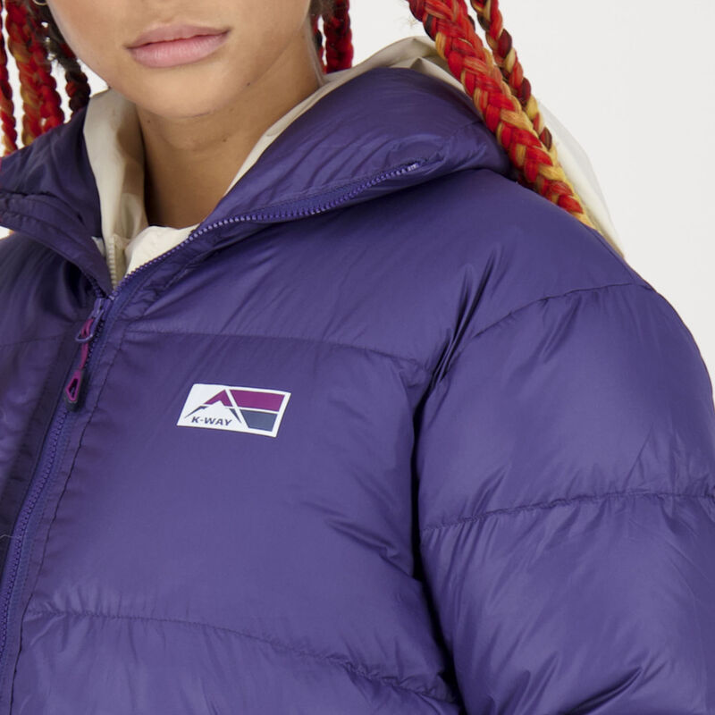 K-Way MMXXI Women's Ivy Down Bomber Jacket -  dc5800