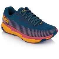 Hoka Women's Torrent 2 Shoe -  midblue-orange