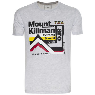 K-Way Men's Mount Kilimanjaro S19.3 T-Shirt