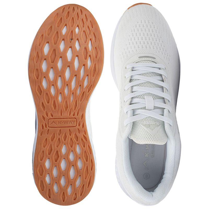 K-Way Men's Griffin Shoe -  white-white
