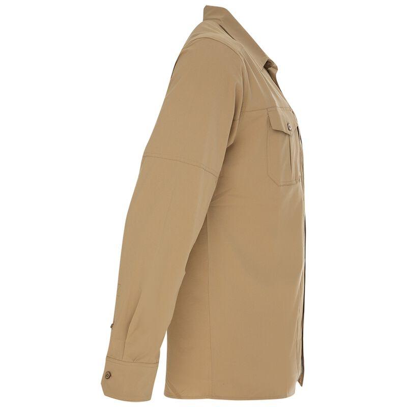 K-Way Men's Explorer Potter Long Sleeve Shirt -  khaki