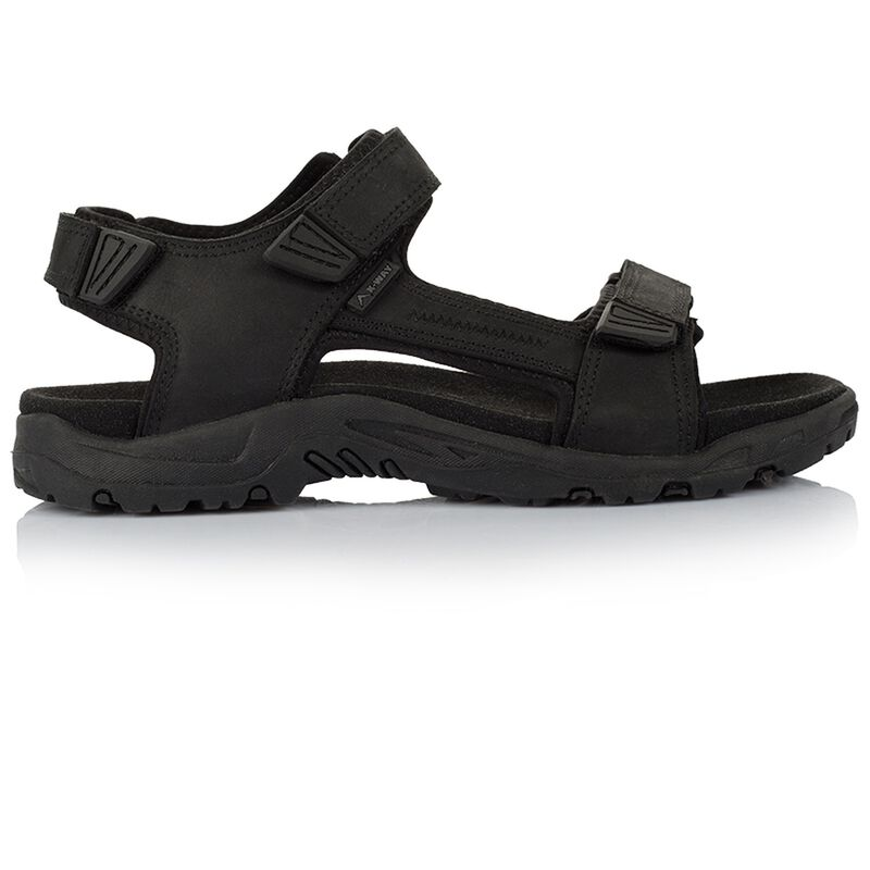 K-Way Men's Harvey Sandal -  black-black