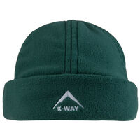 K-Way Fleece Beanie -  darkolive