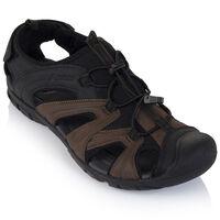 K-Way Men's Fiji Sandal -  black-brown