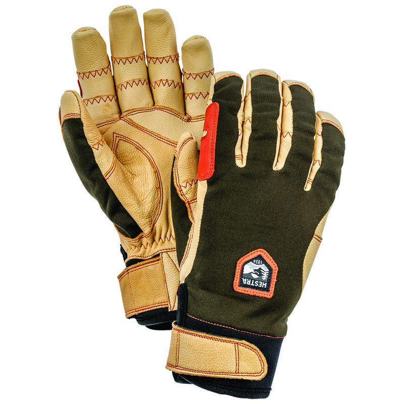 Hestra Ergo Grip Glove -  tan-green