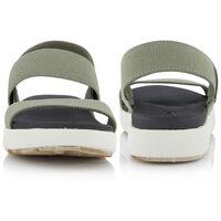 Keen Women's Elle Backstrap Sandal  -  olive-white