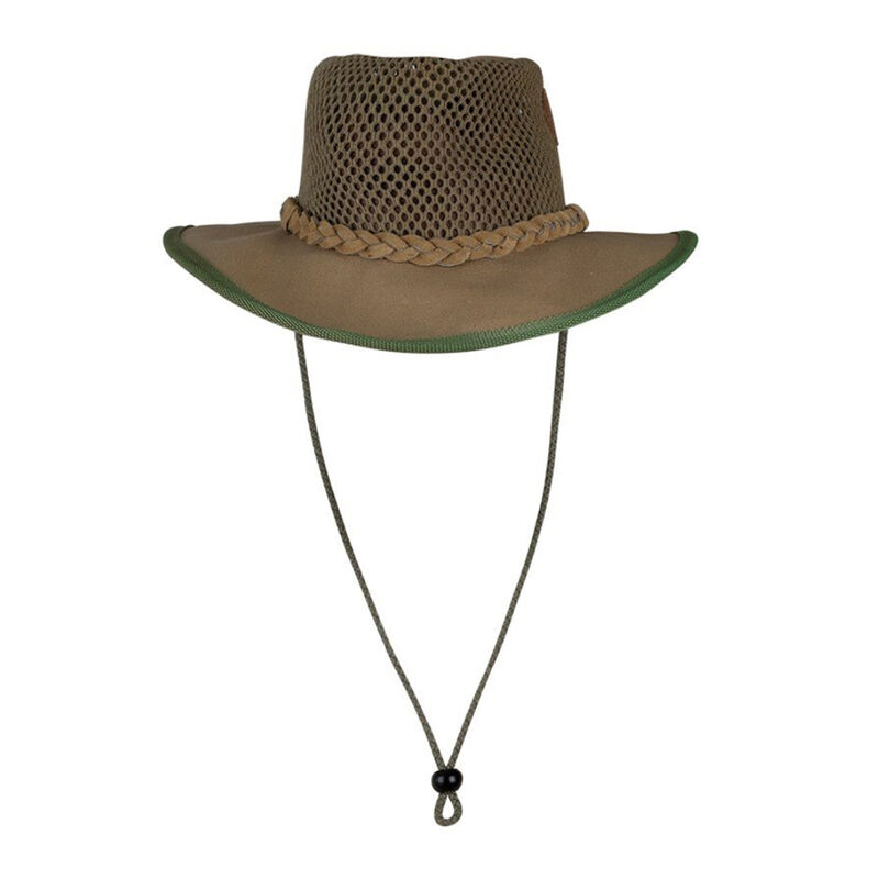 Cape Union Malawi Breezy Mesh Canvas Hat -  olive