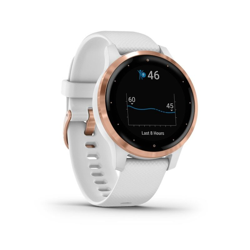 Garmin VIvoactive 4S -  white-rose
