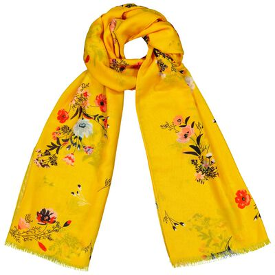 Rare Earth Ella Scattered Floral Scarf