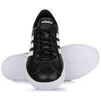 Adidas Men's VL Court 2.1 Sneaker -  black