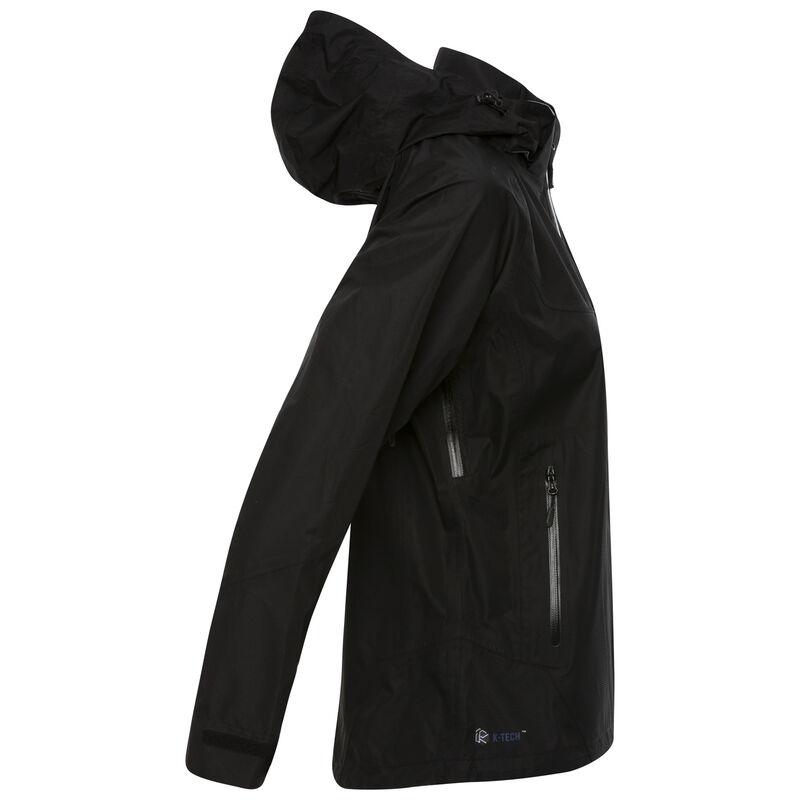 K-Way Women's Deluge Tech Hiking Jacket  -  black-black
