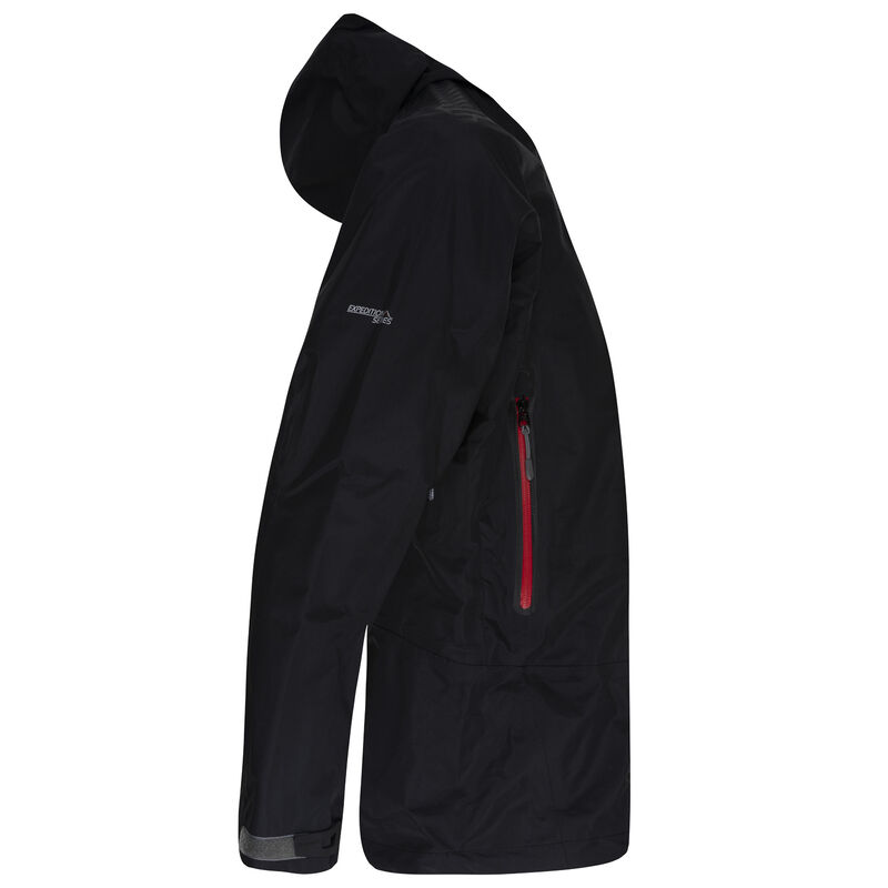 K-Way Expedition Series Men's Merak '16 Tri-lam Shell Jacket -  black-red