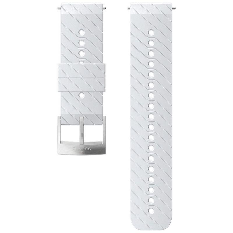 Suunto 24mm Athletic 3 Silicon Strap -  white