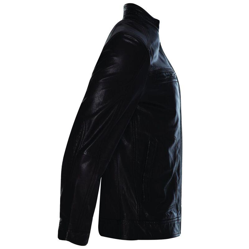 Theo Men's Leather Jacket -  chocolate