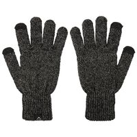K-Way Unisex Logan Touch Gloves -  graphite-grey